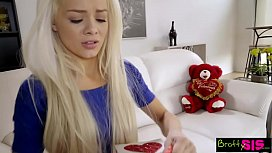 Bratty Sis - Little Sister Falls For Brothers VDay Surprise S4:E4