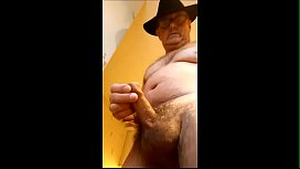 Tossing off then showing off my cumload