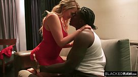 BLACKEDRAW Mia Malkova Keeps Her Husband Updated When Fucking BBC