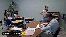 Big Tits at School - Naughty Trade for a Good Grade - Naughty Trade for a Good Grade - Brazzers