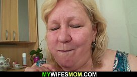 Old busty mother in law taboo sex