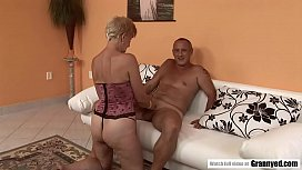 Hairy And Old Mature Fingered To Squirt Then Drilled Hard
