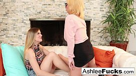 Ashlee gets seduced by her stepdaughter Kendra
