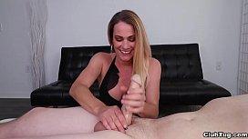 Hot milf cock tease