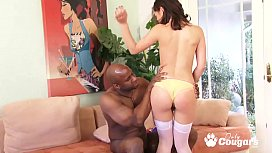 Kristina Rose Gets A Big Load Shot On Her Hairy Muff