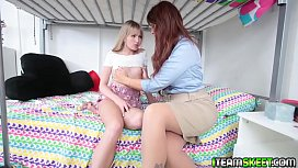 Syren takes the opportunity to get some sexual favors!