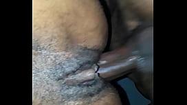 Ebony'_s tight pussy getting fucked