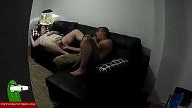 Hidden cam in the living room. RAF163