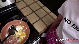 Daughters Breakfast Blowjob