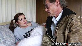 Teen babe rides bbc to settle debt