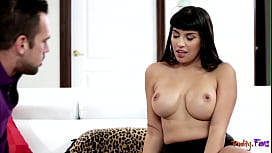Latina stepmommy seduced and pussyfucked