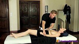 Sexy Milf Gets Her Twat Cum Covered