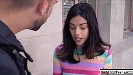 Teen photographer rammed by hunk model