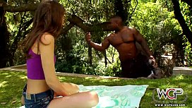 Riley Reid moans with a BBC