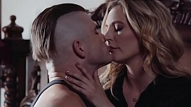 Mona Wales'_s hairy pussy is drilled by Nathan Bronson