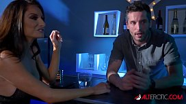 Naughty MILF Silvia Saige gets fucked by the bartender
