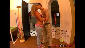 She likes to fuck with strangers!! French amateur