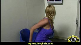 Interracial - White Lady Confesses Her Sins at Gloryhole 16