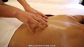 Kiara Lord Sensual Massage with Deep Creampie in Petite Blonde Pussy