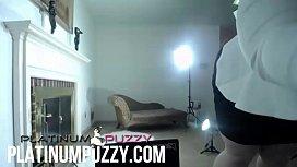 BBW Porn Shoot Platinum Puzzy chubby big butt milf
