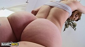 BANGBROS - Ginger Teen Alaina Dawson Getting Wrecked By Mike Adriano