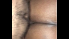 Ebony with fat ass taking dick