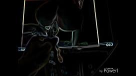 Long Meat Mike in Black Light