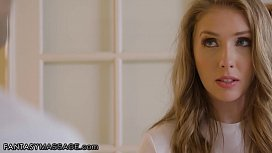 FantasyMassage Lena Paul is Hot &amp_ Bothered by Ex