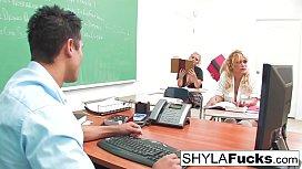 Schoolgirl Shyla Gets Fucked