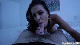 Hot stepmom goes on top of her stepsons young cock!