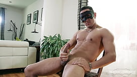 Maskurbate - Masked Bodybuilder Shoots Big Load With His Thick Cock