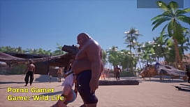 Fat man Sex Wit Tanya Wild Life Game