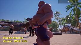 Fat man Sex Wit Tanya Wild Life Game