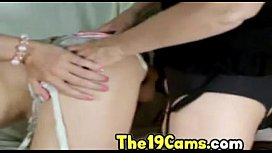 Horny teen POV amateur cam video