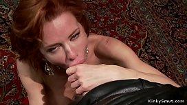 Mix of hot mature ladies in anal bondage
