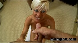 hot blonde milf gets fucked