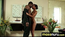 Sexy Girl Nuru Massage and Fuck 15