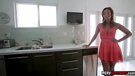 Asian MILF stepmom showed him other way to experience