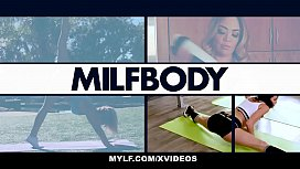 MYLF - Mature Blonde Fitness Vlogger Cherie Deville Fucks Young Assistant