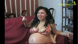 Latina Pregnant Fisting