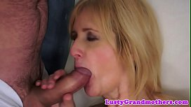 Chubby euro granny gets assfucked
