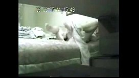 Super ! Watch my mom play with dildo on bed. Hidden cam