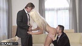 GLamkore - Fit Czech babe Blanche Bradbury Erotic DP Session