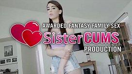 Hot Teen First Blowjob to Brother - SisterCUMS.com