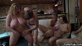 Group retro porn mature women