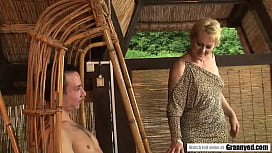 Older woman Eodit gets seduced by young body