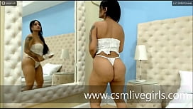 White lingerie like a naughty angel By - Annie Cooperr webcam latina