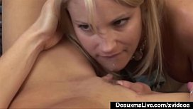 Mature Milf Deauxma StrapOn Fucks Young Girl Samantha Ryan!