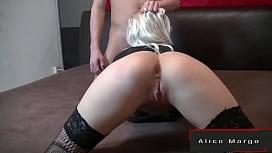 Big CumShot After Sex With Blonde Girl! AliceMargo.com