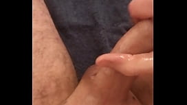 Male masturbation with hard moans dirty talk and cumshot